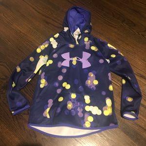 Under Armour hooded sweatshirt youth medium